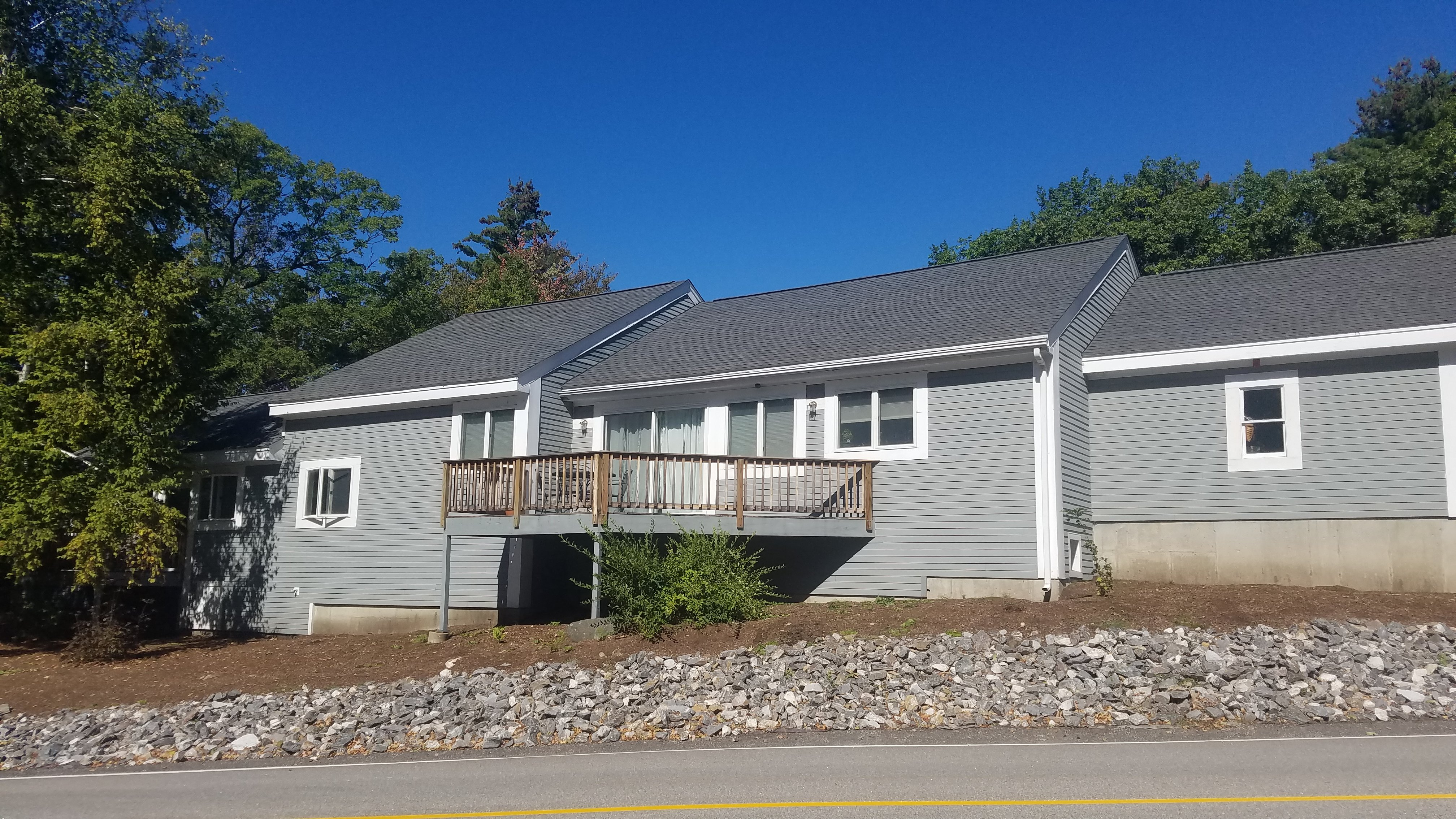 Roofing at #12 Taylor Community in Laconia NH by A.S.A.P. Roofing NH