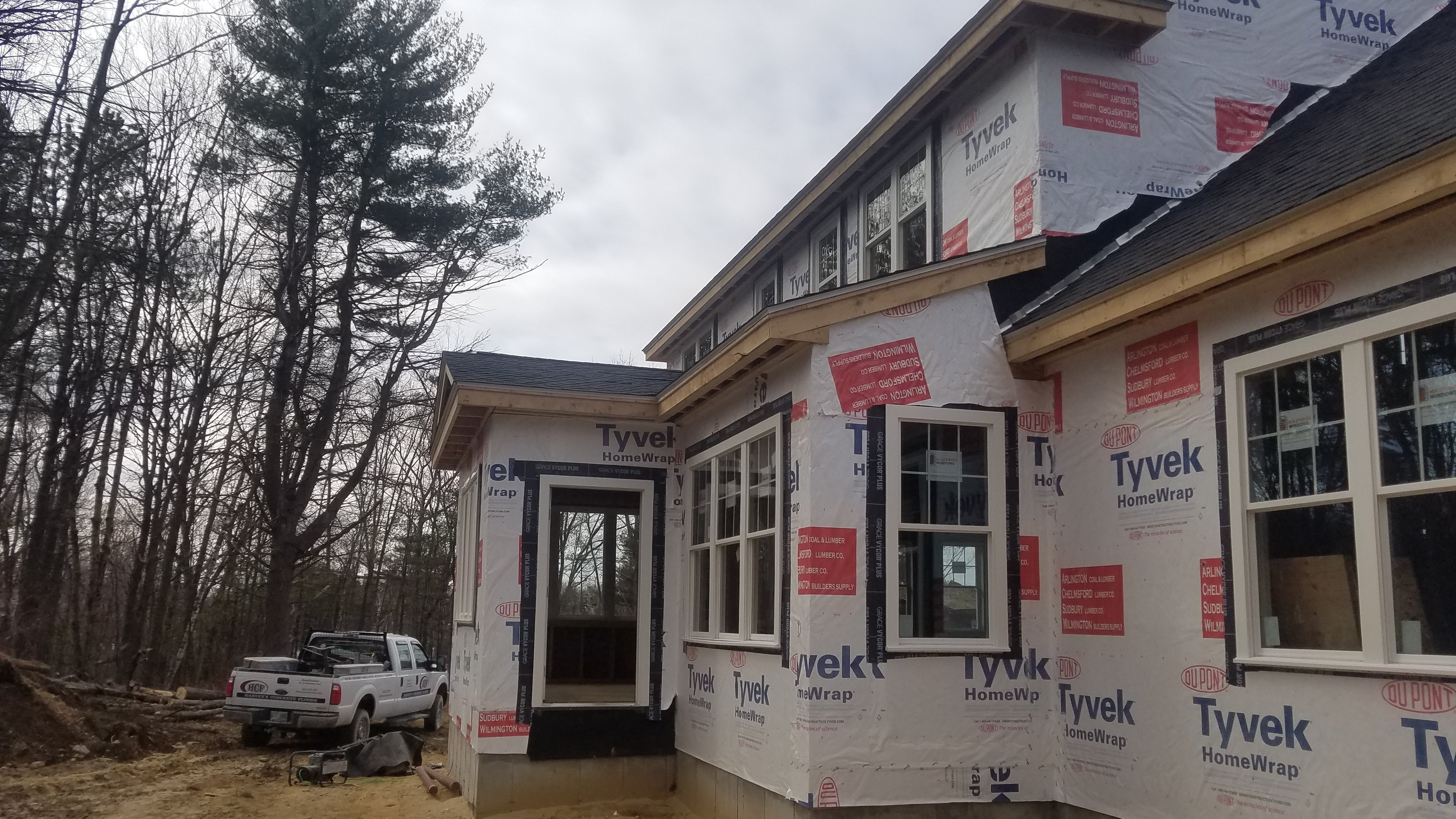 Residential Project in Manchester NH by ASAP Roofing NH