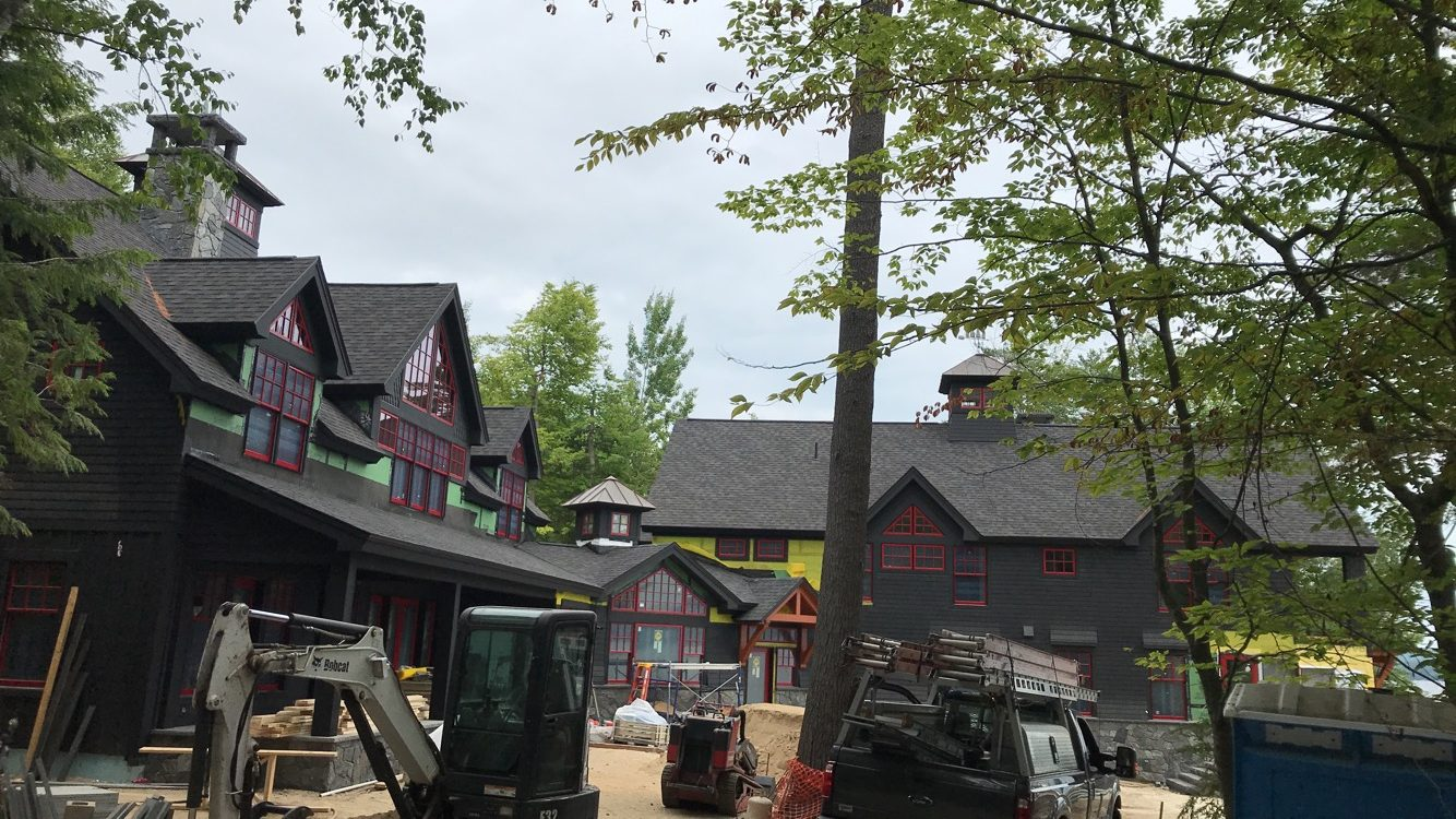 New construction roof install in Wolfeboro NH   ASAP Roofing NH