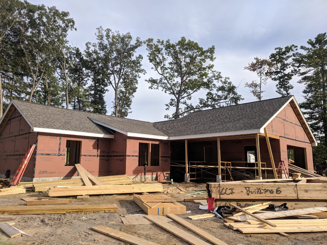 Residential Roofing, New Construction in Laconia NH by ASAP Roofing NH