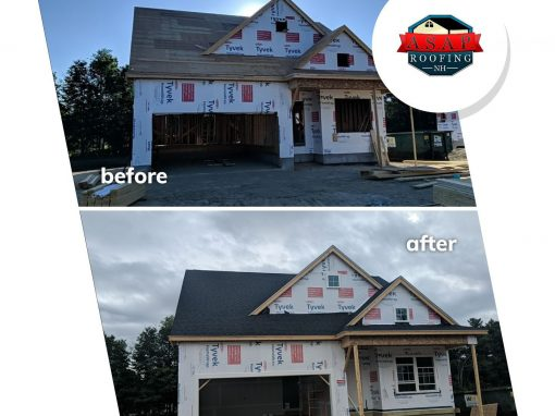 Residential Roofing, New Construction in Londonderry, NH