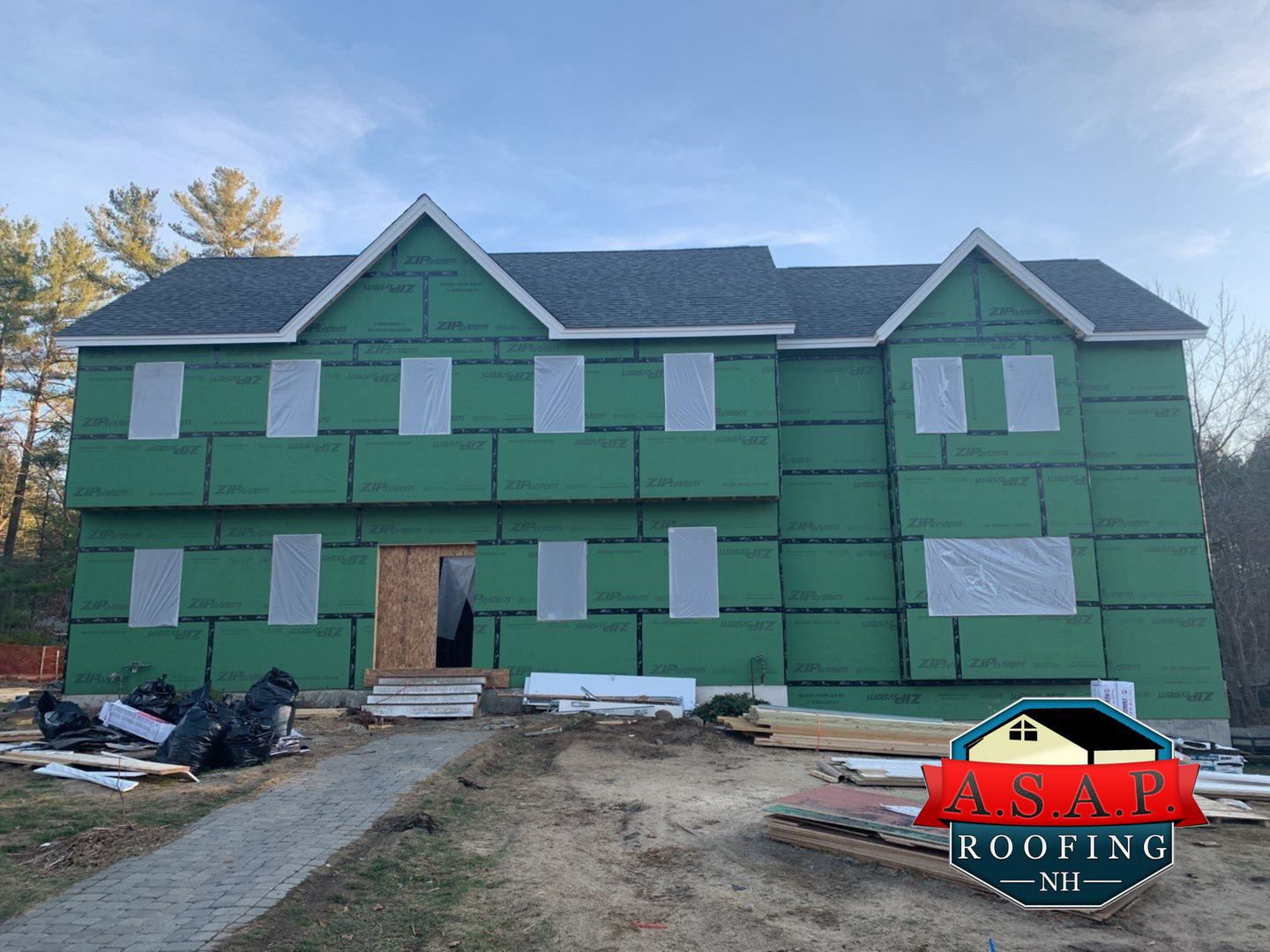 Residential Roofing New Construction by ASAP Roofing