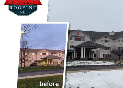 """""""Amazing"""" Commercial Roofing at Best Western in Manchester NH"""