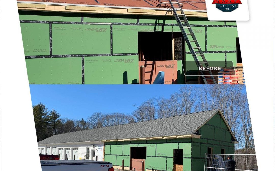 Residential Roofing, New Construction in Rye NH
