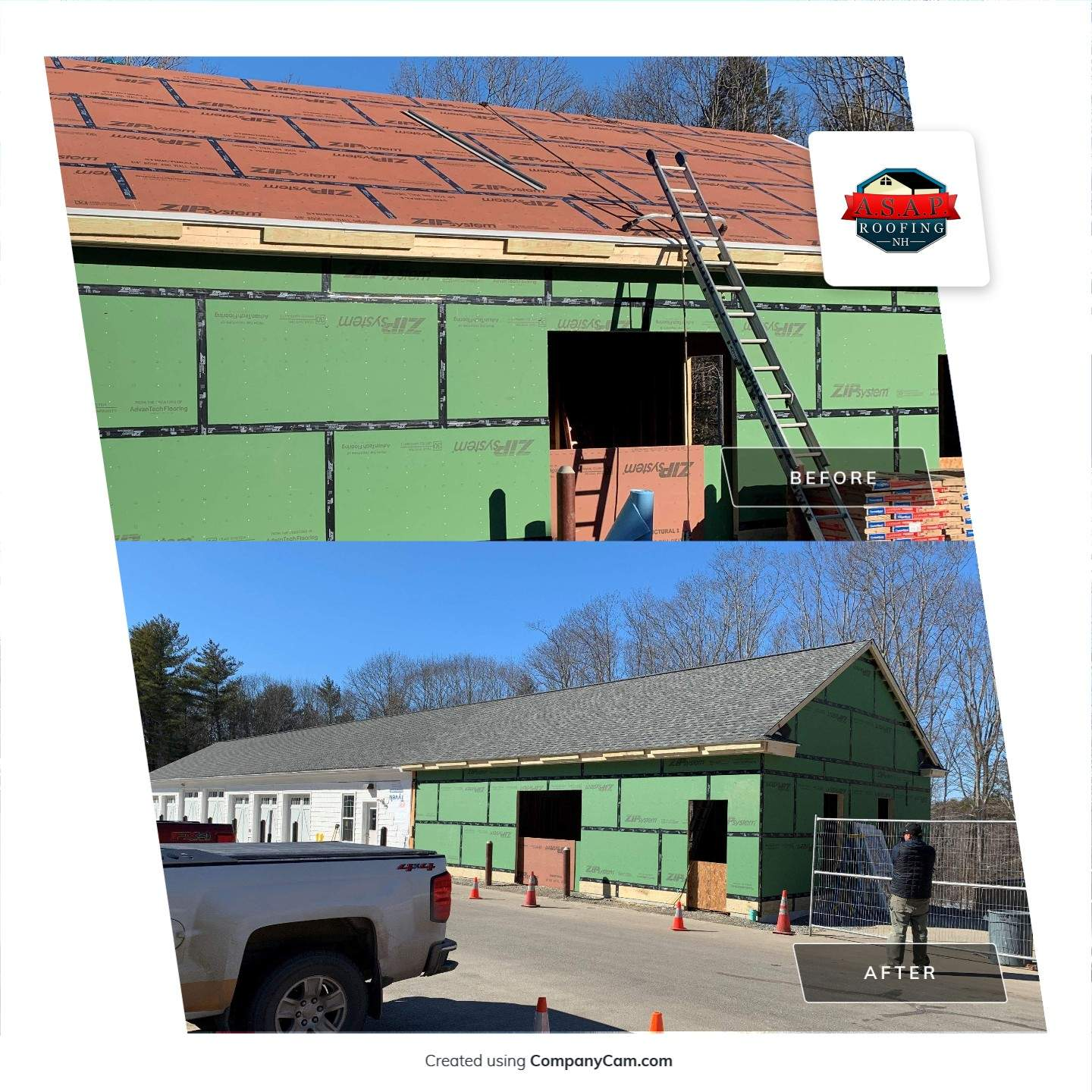 Residential Roofing in Rye, NH by ASAP Roofing NH