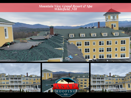Commercial Roofing: Mountain View Grand Resort & Spa in Whitefield NH