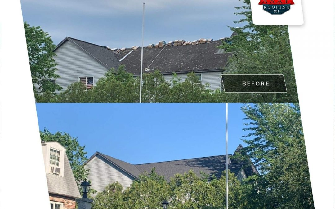 Commercial Roofing in Durham NH Apartment Building