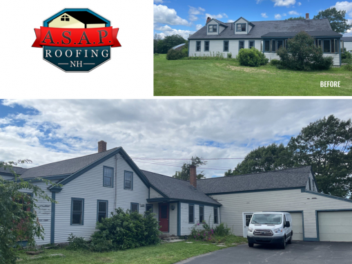 Residential Roofing in Northwood NH